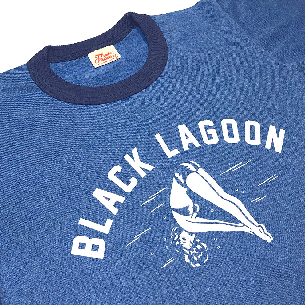 T-shirt. Black Lagoon