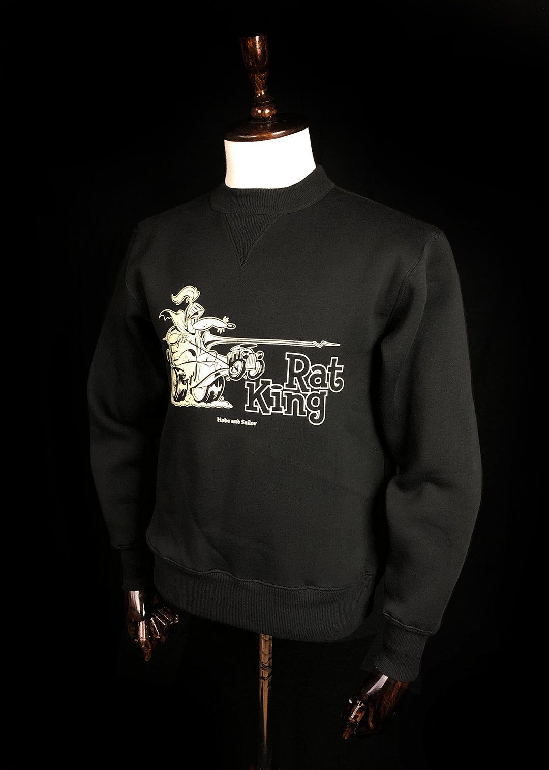 Sweatshirt. Rat King