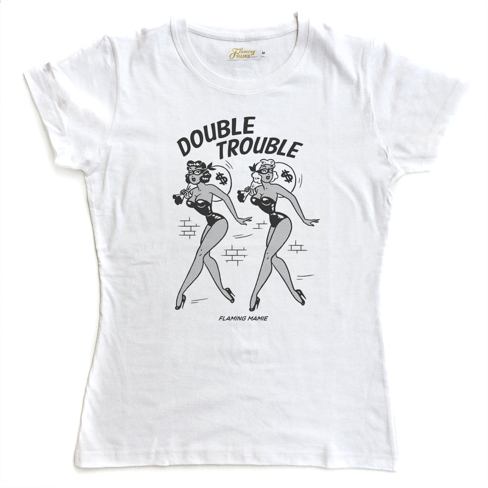 T-Shirt. Double Trouble