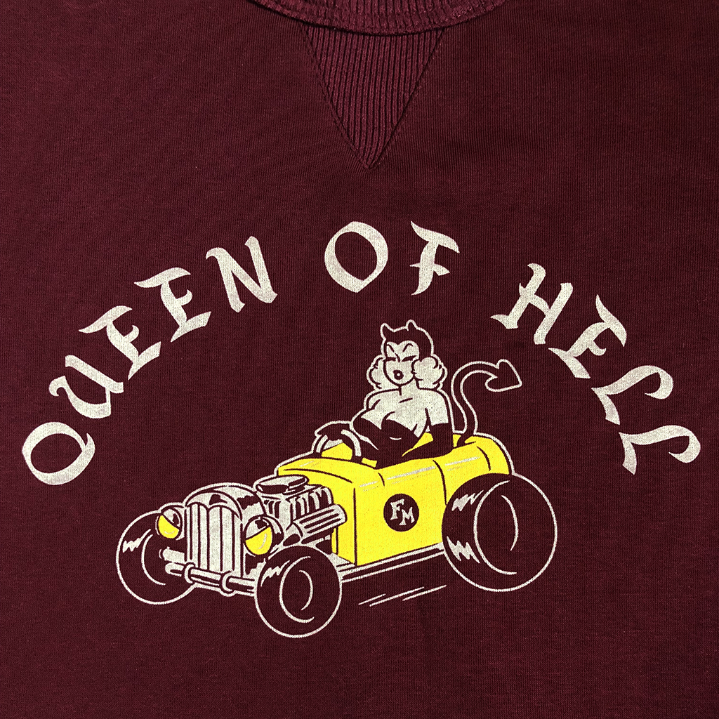 Women's Sweatshirt. Queen of Hell