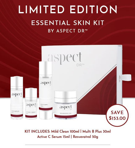 ASPECT DR Essential Skin Kit - CHRISTMAS SPECIAL  Valued at $383.00