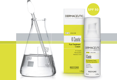 DERMACEUTIC K CEUTIC POST TREATMENT CREAM SPF 50 40ml