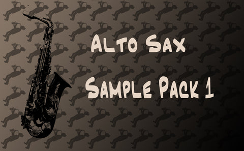 Alto Sax Sample pack 1 - Click to Listen