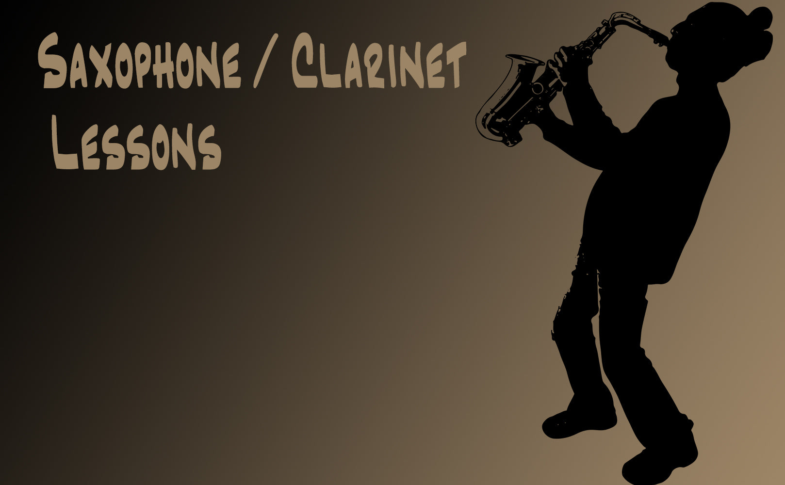Saxophone/Clarinet Lessons