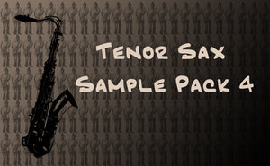 Tenor Sample Pack 4 - Click to Listen
