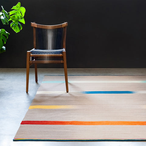 Flatweave Rug - Chromacolour - Designed by Ptolemy Mann