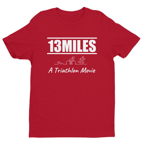 13 Miles Souvenir - Short Sleeve T-shirt with logo