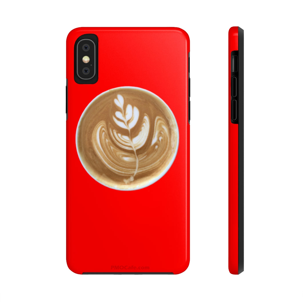 Latte Phone Case - Red