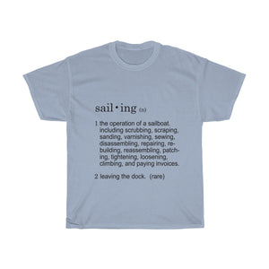 Dictionary definition of Sailing