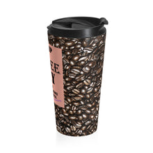 Load image into Gallery viewer, Stainless Steel Coffee Only Travel Mug