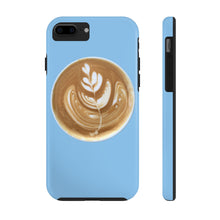 Load image into Gallery viewer, Latte Phone Case - Light Blue