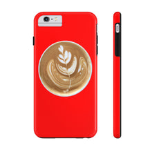 Load image into Gallery viewer, Latte Phone Case - Red