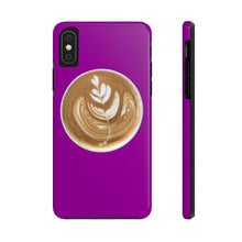 Load image into Gallery viewer, Latte Phone Case - Purple