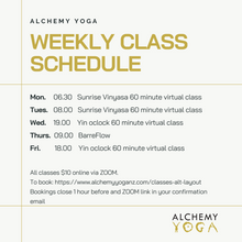 Load image into Gallery viewer, Alchemy Yoga New Zealand with Maddie Brosnan
