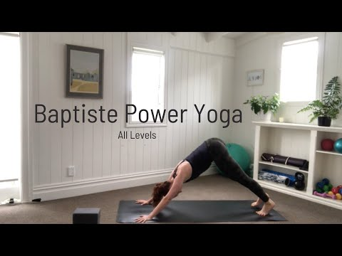 60min All levels Baptiste Power Yoga with Cushla Roughan