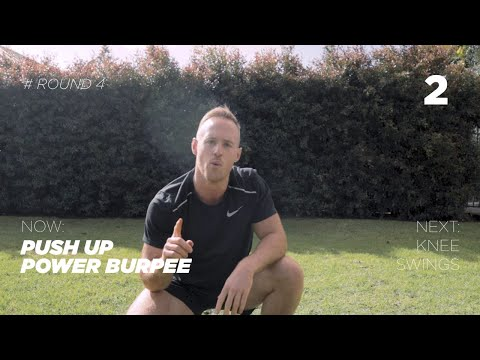 15min Bodyweight Workout - Follow Along with Gary Mulholland