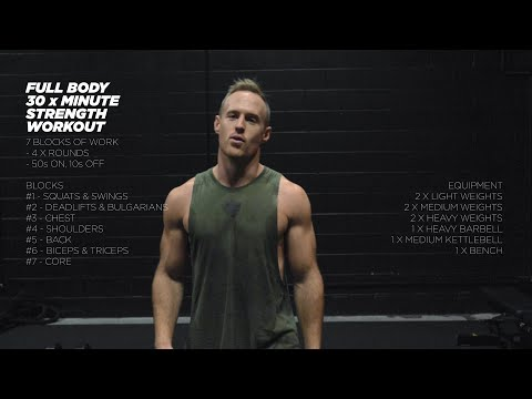 30min Full Body Strength Follow Along Workout with Gary Mulholland