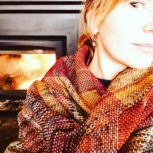 Load image into Gallery viewer, Fireside Scarf