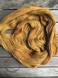 8ply Merino 'Ginger Crunch'