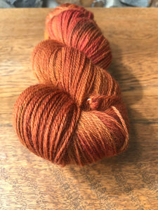 4ply Corriedale Non-Superwash 'Fireside'