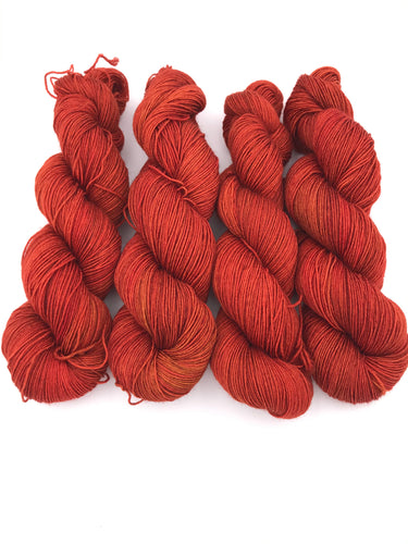 4ply Bluefaced Leicester 'Smoked Paprika'