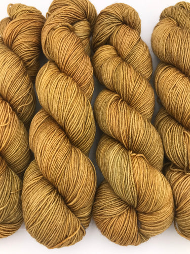 4ply Bluefaced Leicester 'Ginger Crunch'