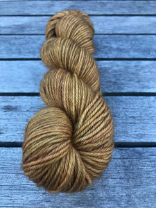 8ply Corriedale 'Ginger Crunch'