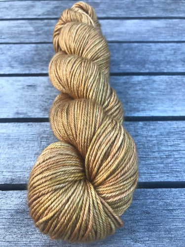 8ply Silk/Merino 'Ginger Crunch'