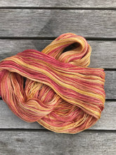 Load image into Gallery viewer, 2ply 100% Mulberry Silk 'Nectarine Dreams'