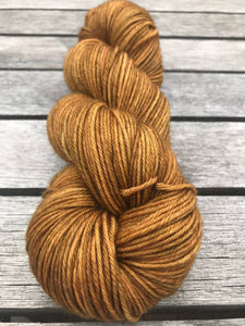 8ply Bluefaced Leicester 'Ginger Crunch'