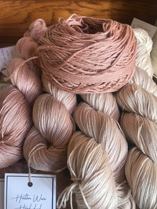 4ply Pima Cotton 'White Tea'