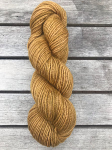 8ply Corriedale Non-Superwash 'Ginger Crunch'