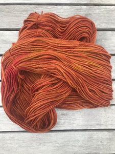 8ply Corriedale Non-Superwash 'Fireside'