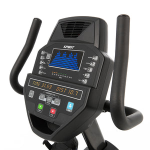 Spirit Fitness Hometrainer Ligfiets CR800