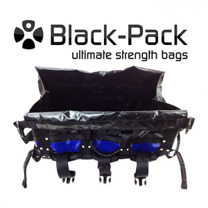 Black-Pack Loading Bag Aqua