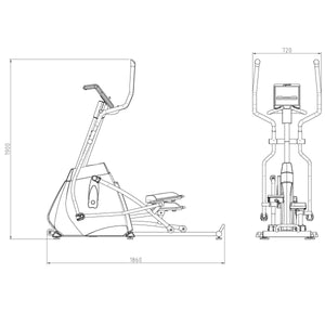 DKN Crosstrainer Elliptical XC-160i