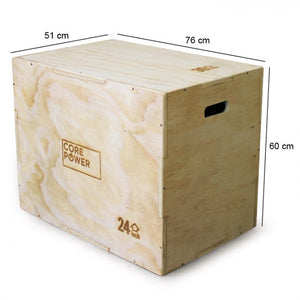 Plyo box Hout 3-in-1