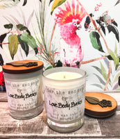 Rose Garden hand-poured natural soy wax candle