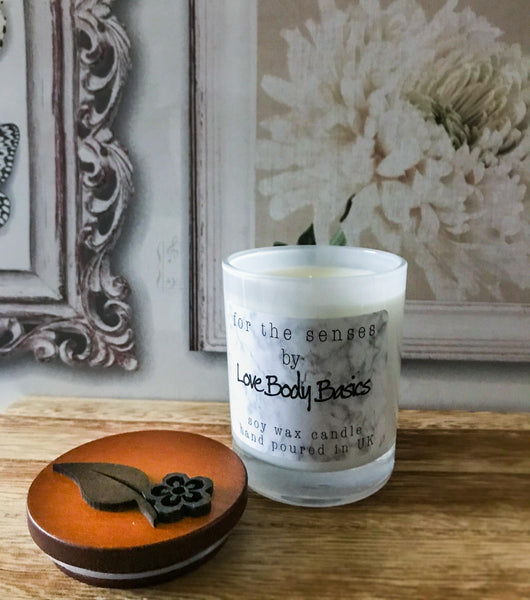 Calming Lavender Spa hand-poured natural soy wax candle