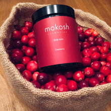 Load image into Gallery viewer, Mokosh Body Balm Cranberry