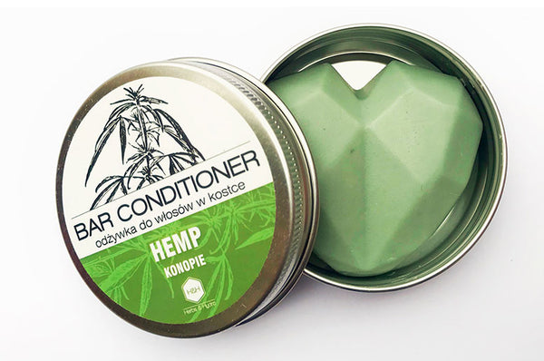 Hemp and may chang hair conditioner bar