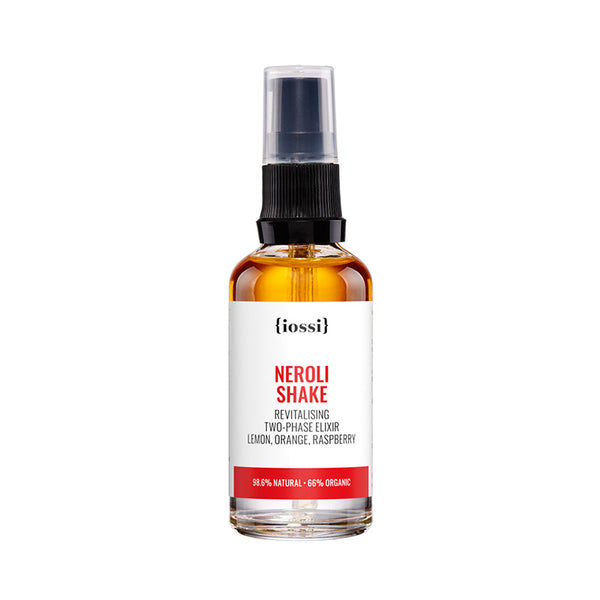 Neroli Shake. Revitalising Two-Phase Elixir with Lemon Extract, Orange Extract and Raspberry Seed Oil