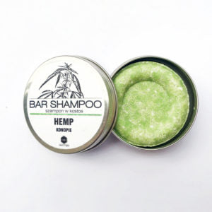Hemp and May Chang shampoo bar by Herbs & Hydro