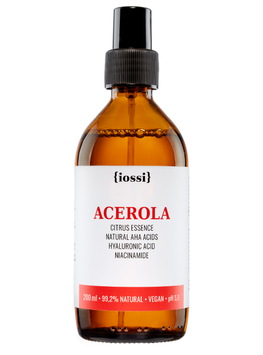 Iossi Acerola Citrus Essence with Natural AHA Acids, Hyaluronic Acid