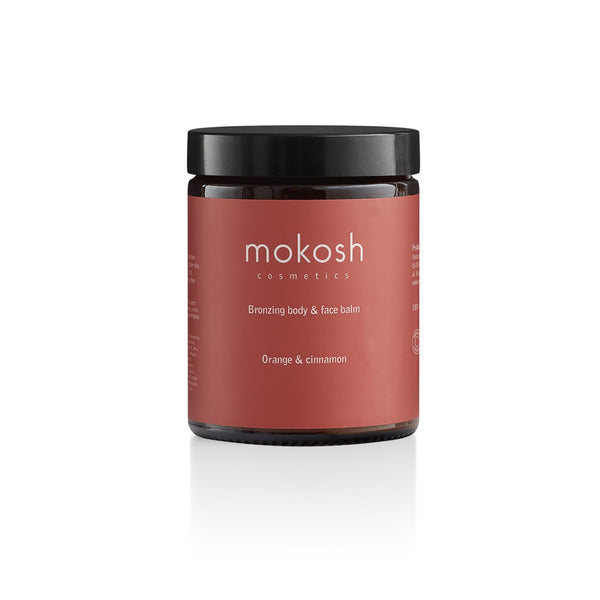 Mokosh Bronzing body and face balm Orange & Cinnamon