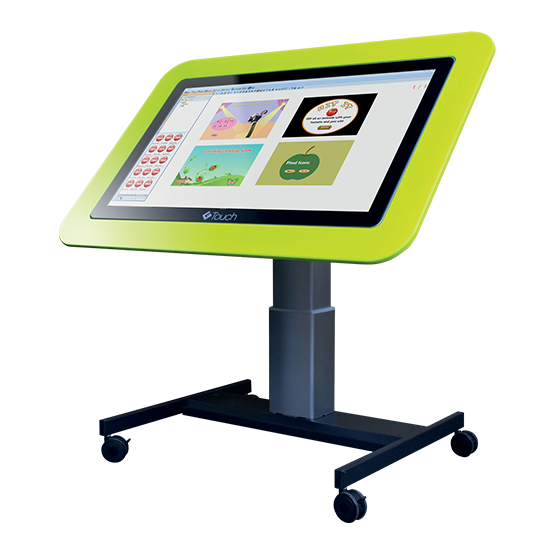 "Genee 42"" High - Low Tilt and Touch Table"