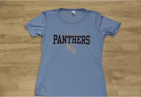 NHS Columbia Lady 100% Poly Tee
