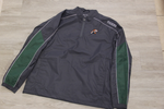 Slidell Dark Green / Graphite 1/4 Zip Wind Jacket