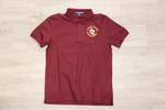 Honey Island Elem Maroon 50/50 Pique Polo