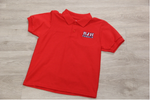 Boyet Jr High Red 50/50 Pique Polo